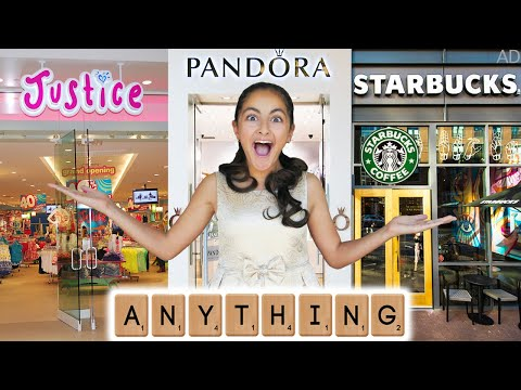 I'll buy Whatever you Spell Challenge !! New Puppy Outfits 🐶& Capsule Chix 👜👠