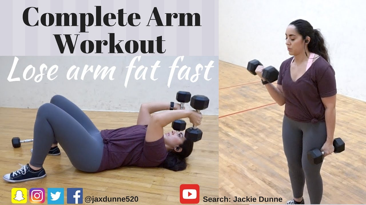 Arm Exercises For Women Biceps And Triceps Lose Arm Fat