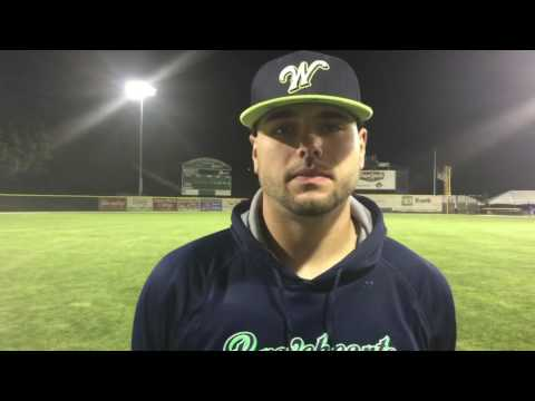 Worcester Bravehearts Greg Stagani & Chad Miller Post 6/17/16