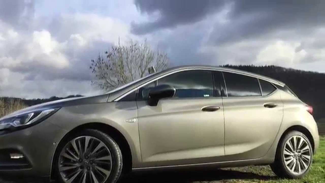 Opel Astra K 2016 - YouTube