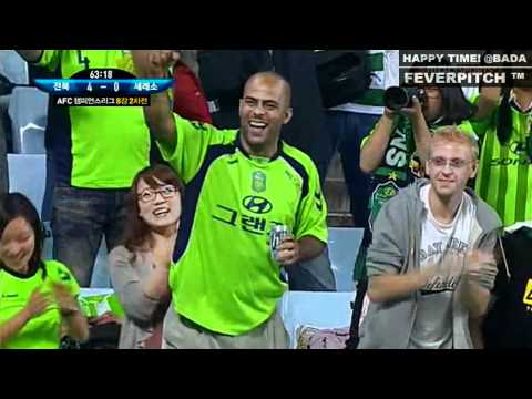 2011 ACL Quarter Final - JEONBUK vs C. OSAKA 110927