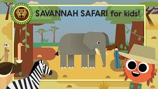 Draw Amazing Savannah Animals! Let's Play Artie's World (Cute App Game for Kids)