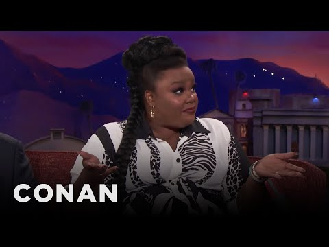 Nicole Byer Found A Piece Of Poop In Her In-Flight Blanket  - CONAN on TBS