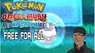 Pokemon ORAS Free For All Kaioken vs Ave vs Kyle vs Kynim