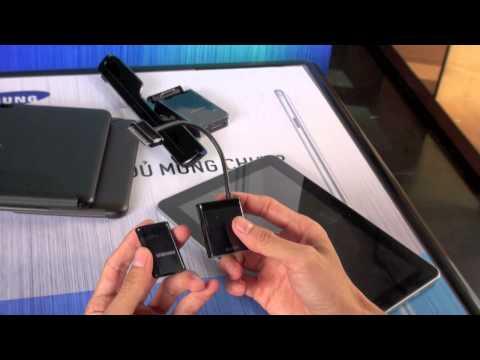 Tinhtevn - Trên tay Galaxy Tab 10.1 và phụ kiện