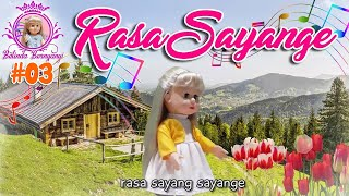 Belinda Bernyanyi #03 RASA SAYANGE - Lagu Anak Indonesia