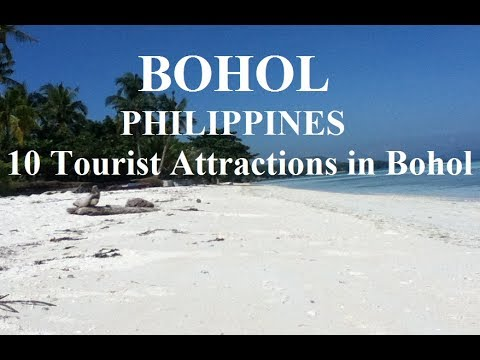 Bohol Island Philippines-10 Tourist Attractions in Bohol