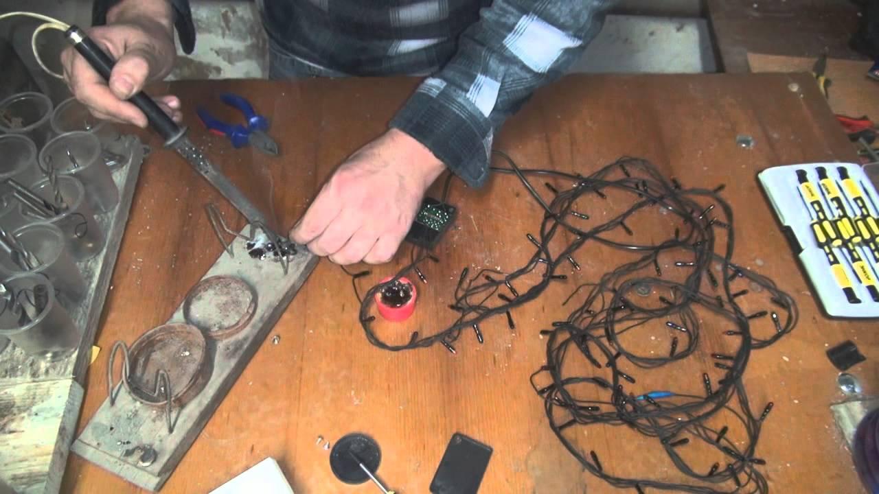 электрогирлянда сетка на окно инструкция крепления
