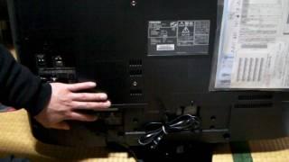 REGZA 32H9000 液晶テレビとインターネット接続方法 液晶テレビ 検索動画 19