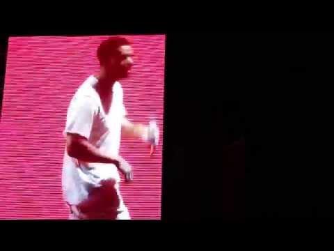 Drake Dancing to Chris Brown's Song