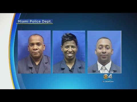 FBI Investigation Leads To Three Miami Police Officers Facing Federal Charges