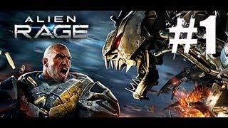 Alien Rage Unlimited Walkthrough Part 1 - Mission 1 - Gameplay