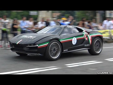 Supercar Parade at Parco Valentino 2016 - Italdesign Giugiaro, Project 7, F12 & More!