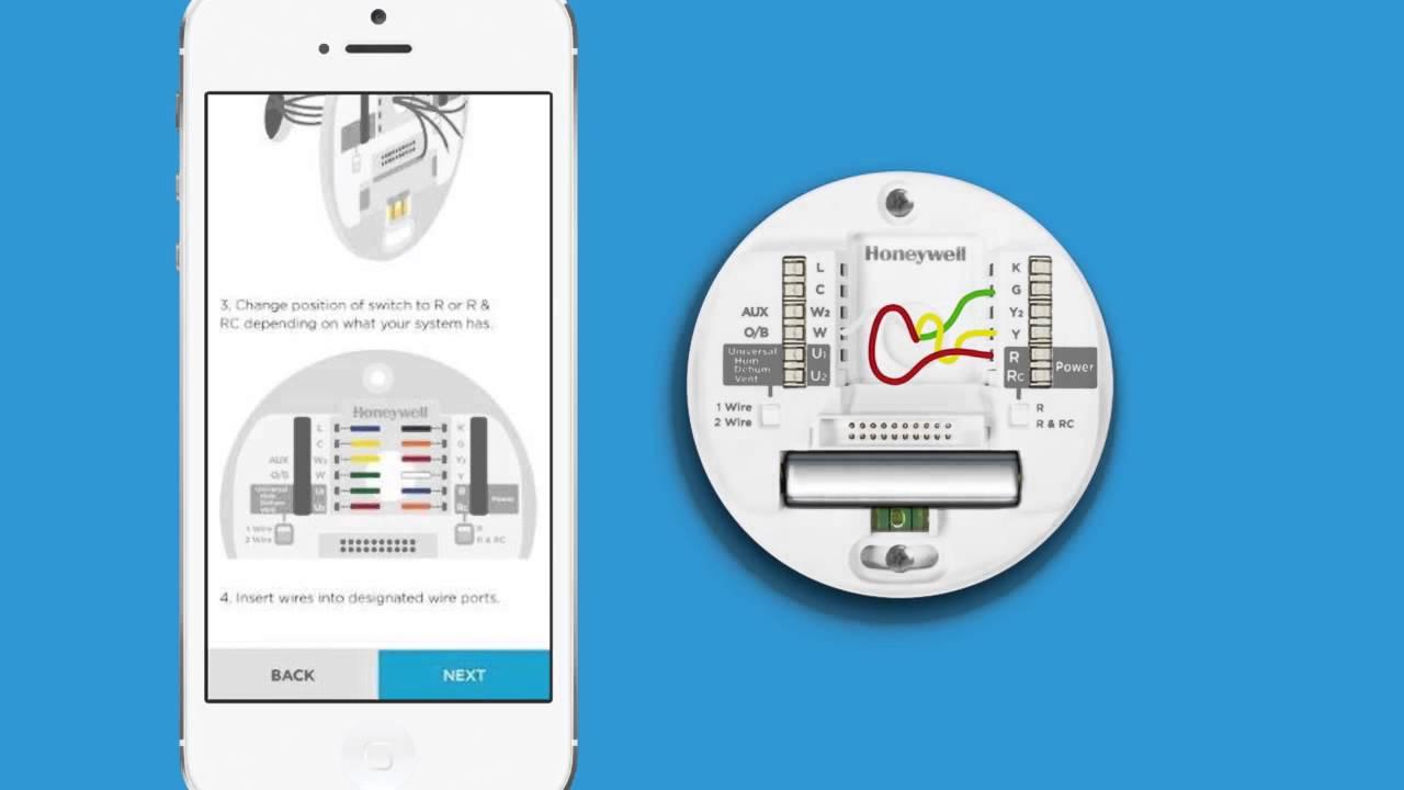 standard thermostat wiring diagram