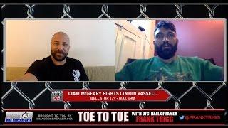 Frank Trigg Interviews Bellator 179's Liam McGeary