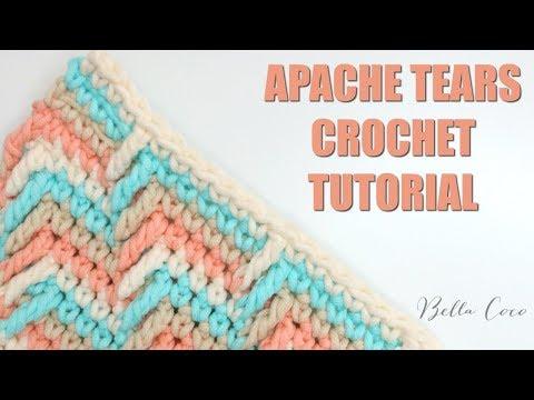 CROCHET: How to crochet Apache Tears | Bella Coco Crochet