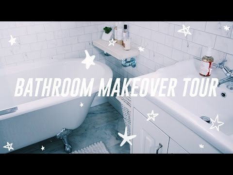 BATHROOM MAKEOVER + TOUR | Helen Anderson