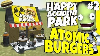 Happy Accident Park #2 - The Wall, Atomic Burger & Round About