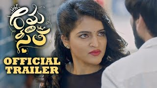Rama Chakkani Seetha Theatrical Trailer | Indhra | Sukrutha | Priyadarshi