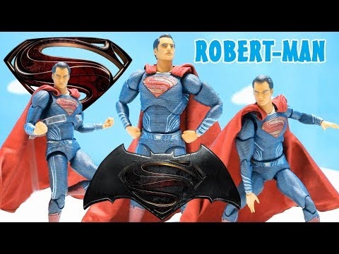(ESPAÑOL) BATMAN v SUPERMAN - Superman - figura - juguete - review - reseña - mafex - medicom