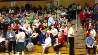 St. Charles MO Hijacked Caucus - Peaceful crowd inside the Gym