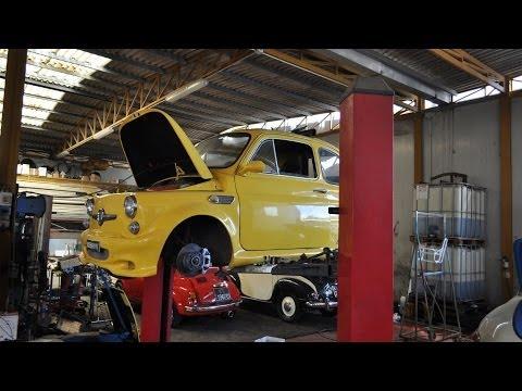 Motore fiat 500 elaborato parte 2 by roby for Laboratorio di garage domestico