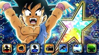A SURPRISE GODLY F2P UNIT! 100% RAINBOW STAR UNIVERSAL SPIRIT BOMB GOKU! (DBZ: Dokkan Battle)