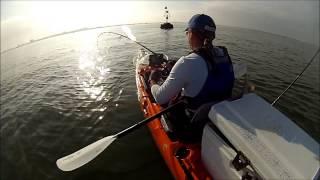 Kayak Fishing - Portugal Pesca de kayak 2014 Vídeo 15