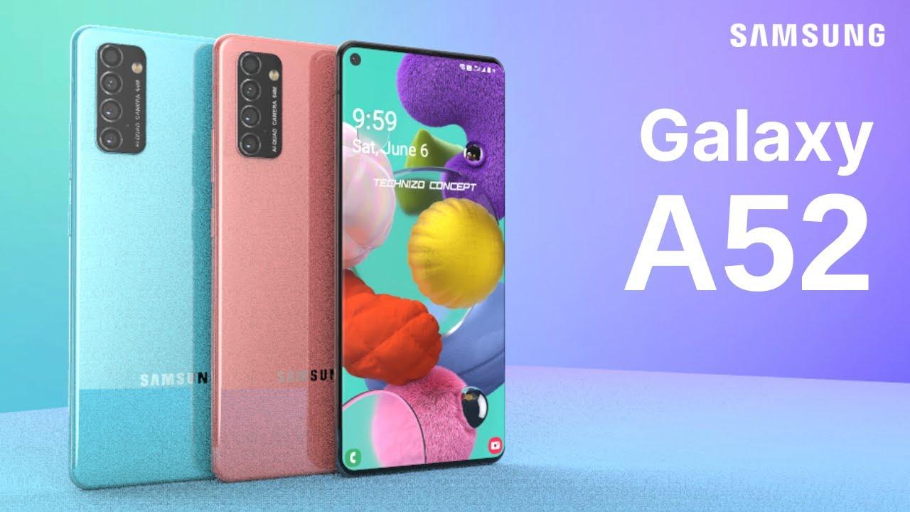 Samsung Galaxy A52 Trailer Concept Design Introduction - YouTube