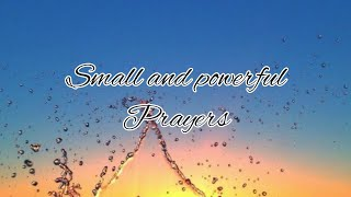 Powerful prayers/God quotes/God's blessing