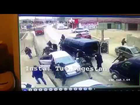 Дагестан.Хасавюрт. Задержание ТЕРРОРИСТОВ 16/02/2016г.