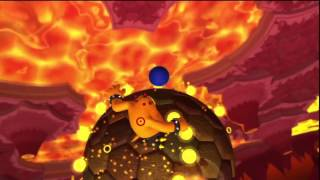 Sonic Lost World - Lava Mountain Zone 1