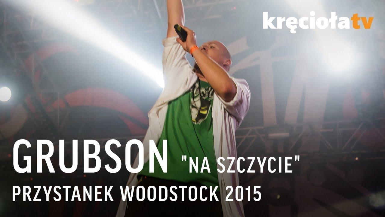 """Grubson """"Na szczycie"""" Przystanek Woodstock [PROMO DVD+CD] -"""