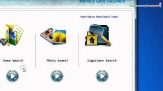 DDR Memory Card Recovery Software to recover data from flash card