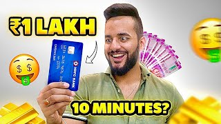 How QUICK can you SPEND RS 1,00,000 🤑??