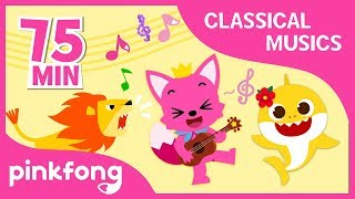 Baby Shark Classical Music and more | +Compilation | Pinkfong Classical Musics