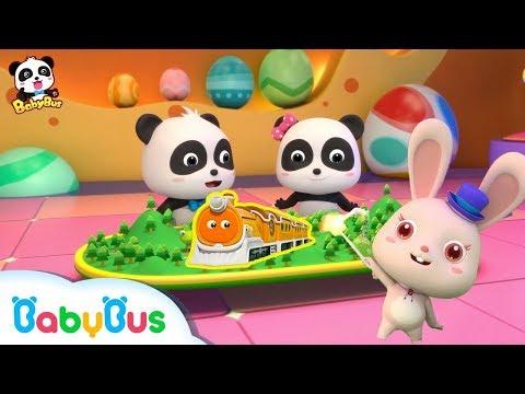Lagu Video Permen Ajaib | Kumpulan Film Bayi Panda Ajaib | Lagu Anak-anak | Bahasa Indonesia | Babybus Terbaru