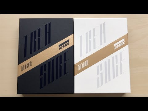 ♡Unboxing ATEEZ 에이티즈 1st Studio Album Treasure EP.FIN All To Action (A & Z Ver.)♡