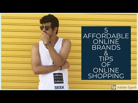 TOP 5 ONLINE BRANDS & TIPS FOR ONLINE SHOPPING - MEN'S FASHION