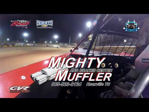 #T35 Tanner Works - Crate - 4-15-17 Boyd's Speedway - In-Car Camera