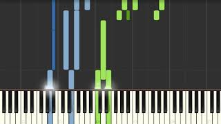 Trouble In Town Coldplay [Piano Tutorial] Synthesia