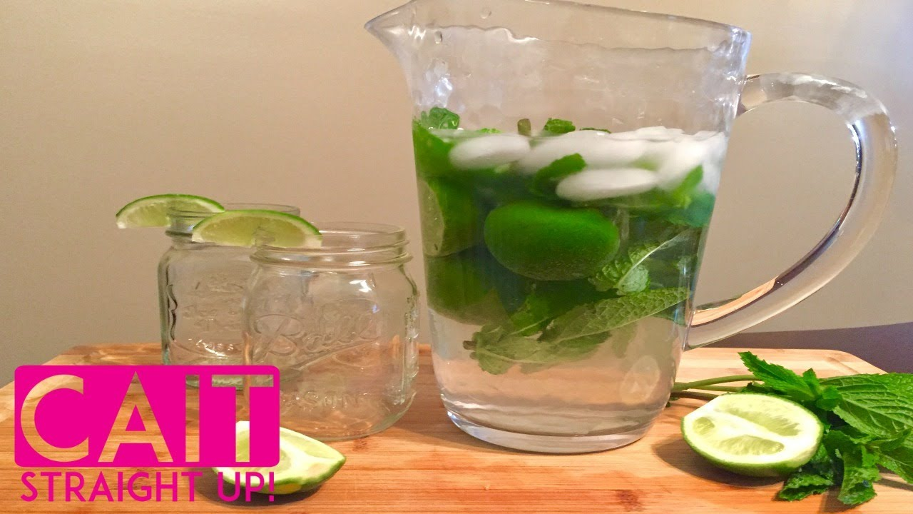 Mojito Pitcher Recipe Mojitos By The Pitcher Cait Straight Up