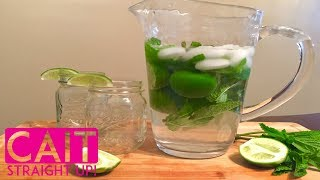 Mojito Pitcher Recipe | Mojitos By The Pitcher | Cait Straight Up