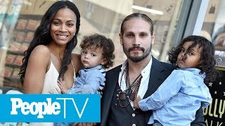 Zoe Saldana Shares Her Unique Father's Day Plans: 'I'm Going To The Spa' | PeopleTV