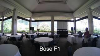 Bose F1 Model 812 vs. JBL PRX 612