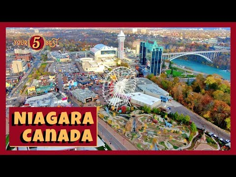 CANADIAN SIDE Of NIAGARA FALLS - Best Things To See And Do