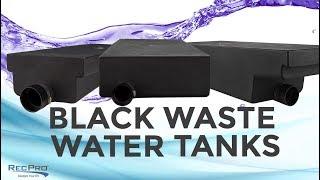 "Alpha 28.5 Gallon 60"" x 24"" x 7"" RV Black Water Tank VR24607HR"