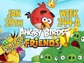 Angry Birds Friends Tournament Week 244-a Levels 1 To 6 Power Up Mobile Compilation Walkthroughs video