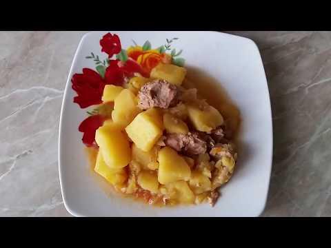 Рецепт овощного рагу с мясом в мультиварке редмонд