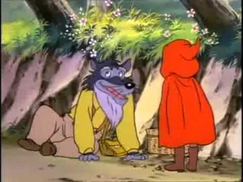 Le petit chaperon rouge dessin anim en francais youtube - Dessin petit chaperon rouge ...